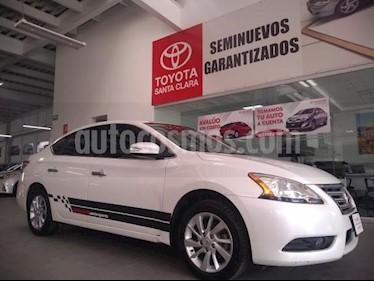 foto Nissan Sentra 4p Advance L4/1.8 Man usado (2016) color Blanco precio $173,000