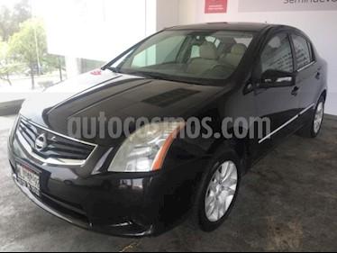 Foto venta Auto usado Nissan Sentra 4p Custom L4/2.0 Man (2012) color Negro precio $109,000