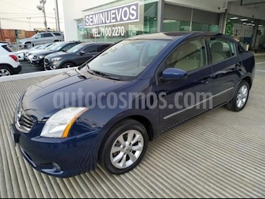 Foto venta Auto usado Nissan Sentra 4p Emotion L4/2.0 Man (2012) color Azul Marino precio $115,000