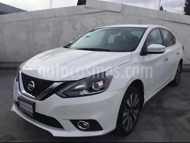 Foto Nissan Sentra 4p Exclusive L4/1.8 Aut Nave usado (2018) color Blanco precio $329,900