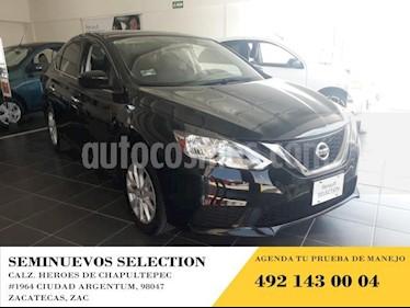 Foto venta Auto usado Nissan Sentra 4p Sense L4/1.8 Aut (2017) color Negro precio $215,000