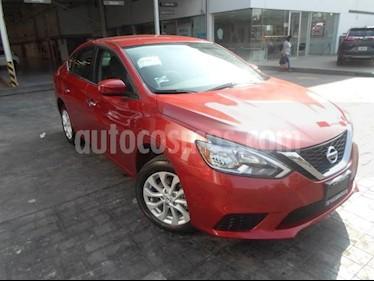 Foto venta Auto usado Nissan Sentra 4p Sense L4/1.8 Aut (2018) color Rojo precio $239,000