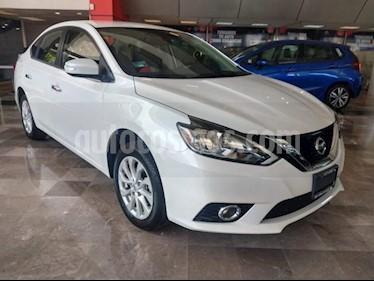 Foto Nissan Sentra 4p Sense L4/1.8 Aut usado (2018) color Blanco precio $259,000
