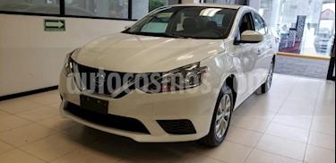 foto Nissan Sentra 4p Sense L4/1.8 Aut usado (2018) color Blanco precio $239,000