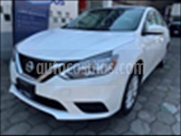 Nissan Sentra 4P SENSE L4/1.8 AUT usado (2017) color Blanco precio $190,000