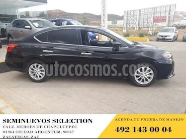 Foto venta Auto usado Nissan Sentra 4p Sense L4/1.8 Man (2017) color Negro precio $205,000
