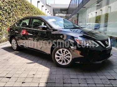 Foto venta Auto usado Nissan Sentra 4p Sense L4/1.8 Man (2017) color Negro precio $199,000