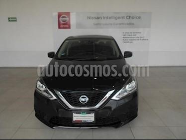 Foto Nissan Sentra 4P SENSE TM6 A/AC. RA-16 usado (2018) color Negro precio $245,000
