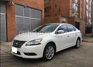 Foto venta Carro usado Nissan Sentra Advance Aut (2014) color Blanco precio $22.000.000