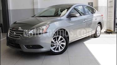 Foto venta Auto usado Nissan Sentra Advance Aut (2013) color Gris precio $140,000