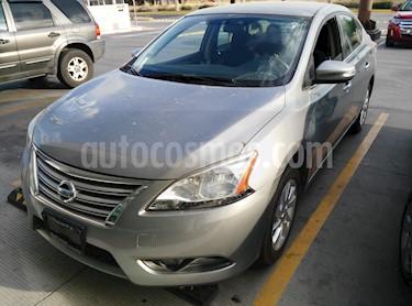 Foto venta Auto usado Nissan Sentra Advance Aut (2014) color Gris Oxford precio $145,500