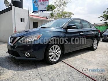 Foto venta Auto usado Nissan Sentra Advance Aut (2017) color Azul Electrico precio $220,000