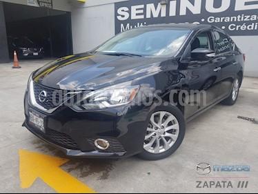 foto Nissan Sentra Advance Aut usado (2017) color Negro precio $235,000