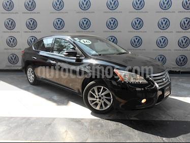 Foto Nissan Sentra Advance Aut usado (2016) color Negro precio $189,000