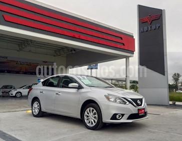 Foto venta Auto usado Nissan Sentra Advance Aut (2017) color Plata precio $245,000
