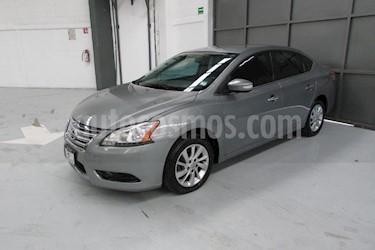 Foto venta Auto Seminuevo Nissan Sentra Advance Aut (2013) color Gris precio $138,000