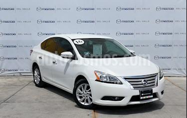 Foto Nissan Sentra Advance Aut usado (2016) color Blanco precio $200,000