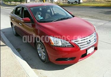 Foto venta Auto usado Nissan Sentra Advance Aut (2015) color Rojo Burdeos precio $169,500