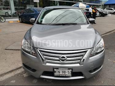 Foto venta Auto usado Nissan Sentra Advance Aut (2015) color Gris precio $163,000