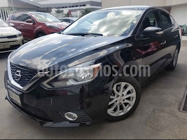 Nissan Sentra Advance Aut usado (2017) color Negro precio $220,000