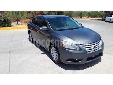 Foto venta Auto usado Nissan Sentra Advance Aut (2016) color Gris precio $195,000