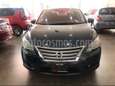 Foto venta Auto usado Nissan Sentra Advance Aut (2015) color Azul precio $174,000