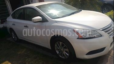 Nissan Sentra Advance Aut usado (2015) color Blanco precio $149,000