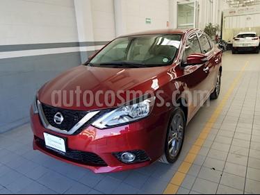 Foto venta Auto Seminuevo Nissan Sentra Advance Aut (2017) color Rojo precio $221,000