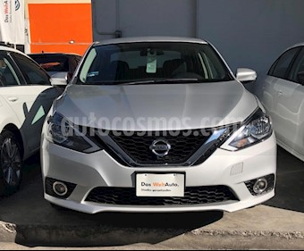 Foto venta Auto usado Nissan Sentra Advance Aut (2017) color Plata precio $199,873
