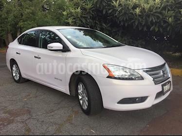 Foto venta Auto usado Nissan Sentra Advance Aut (2016) color Blanco precio $179,500