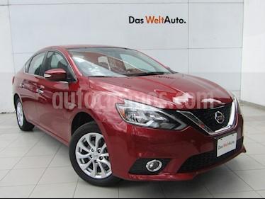 Foto venta Auto usado Nissan Sentra Advance Aut (2017) color Rojo Burdeos precio $209,000