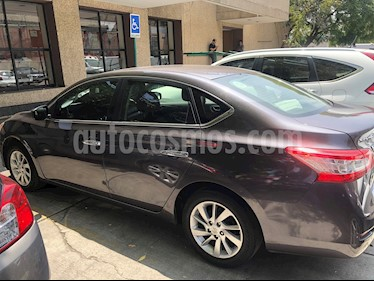 Nissan Sentra Advance Aut usado (2013) color Gris Oxford precio $135,000
