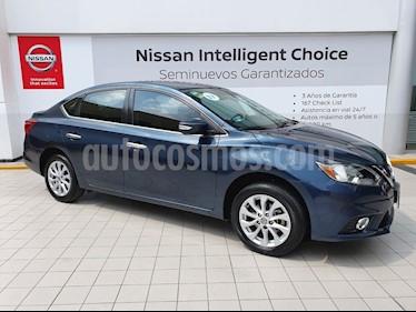 Foto venta Auto usado Nissan Sentra Advance (2017) color Azul precio $210,000