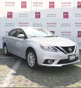 Foto venta Auto Seminuevo Nissan Sentra Advance (2018) color Plata precio $250,000
