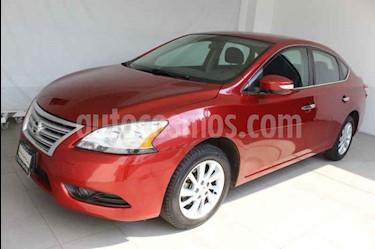 Foto venta Auto usado Nissan Sentra Advance (2016) color Rojo precio $179,000