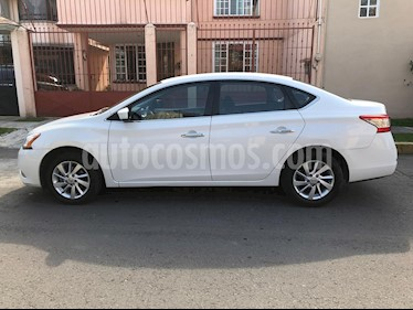 Nissan Sentra Advance usado (2015) color Blanco Perla precio $151,000