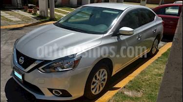 Nissan Sentra Advance usado (2017) color Plata precio $220,000