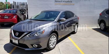 Foto venta Auto usado Nissan Sentra Advance (2017) color Gris Oxford precio $210,000