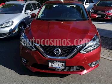 Foto venta Auto Seminuevo Nissan Sentra Advance (2017) color Rojo precio $215,000