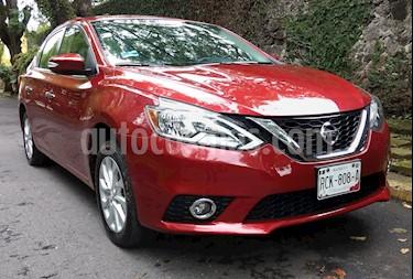 Foto venta Auto usado Nissan Sentra Advance (2017) color Rojo precio $185,000