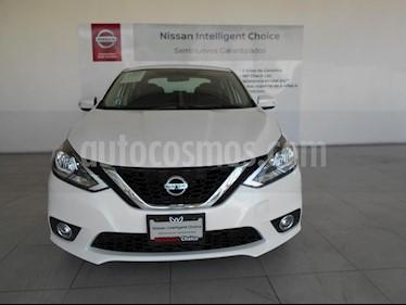 Foto venta Auto Seminuevo Nissan Sentra Advance (2017) color Blanco precio $229,000