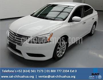 Foto venta Auto Seminuevo Nissan Sentra Advance (2016) color Blanco Perla precio $105,000