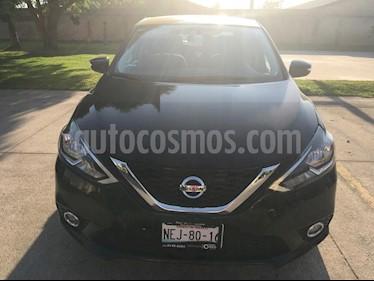Nissan Sentra Advance usado (2017) color Negro precio $210,000