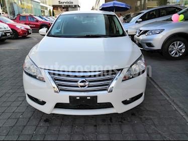 Foto venta Auto usado Nissan Sentra Advance (2015) color Blanco precio $168,000