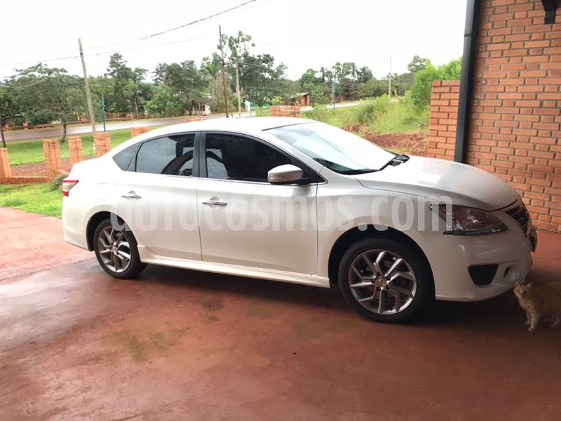 Nissan Sentra SR CVT Safety Pack usado (2015) color Blanco precio $1.100.000