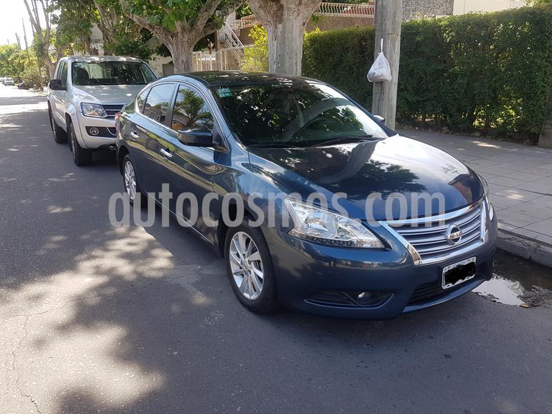 Nissan Sentra Advance usado (2015) color Azul Orion precio $1.050.000