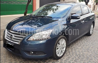 Nissan Sentra Exclusive CVT Safety Pack usado (2015) color Azul Orion precio $690.000