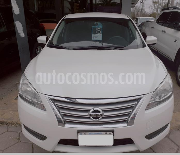 Nissan Sentra Advance Safety Pack usado (2015) color Blanco precio $1.210.000
