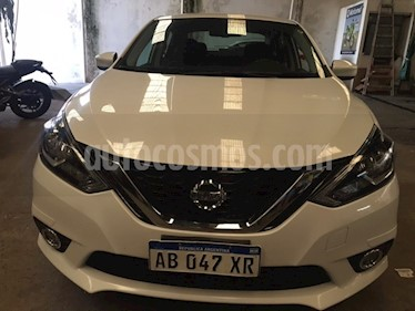 Nissan Sentra Advance Safety Pack usado (2017) color Blanco precio $700.000