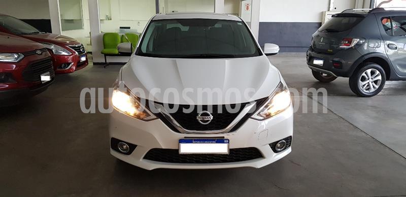 Nissan Sentra Exclusive CVT usado (2017) color Blanco precio $1.110.000